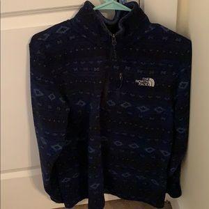 North face half-zip jacket